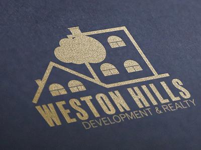 Weston Hills Logo Design logo design real estate