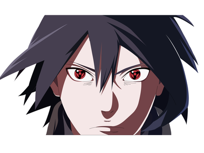 Anime sharingan fierce sasuke character naruto happy brand identity brand gaming logo gaming flat design mascot design logo design anime caricature cartoon quarantine logo hunterlancelot