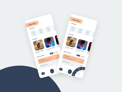 Journal App idea figma mockup ios app ios app design figmanigeria design concept beautiful app ui uidesign figmaafrica