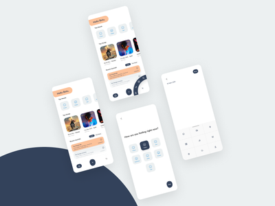 Journal App lifestyle figma mockup ios app concept beautiful app ui uidesign figmanigeria figmaafrica design