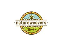 Natureweavers Kids Forest School Logo Concept