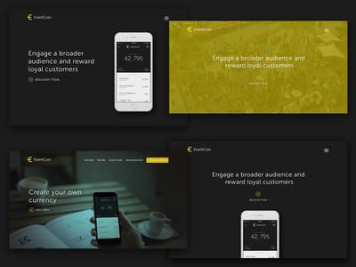 EventCoin Bundle header landing app product eventcoin