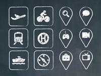 Chalkboard Icons
