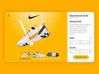 Landing Page For Men's Shoes
