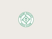 Miami Valley Golf Club logodesign logo golfing sports badge sports logo design sports logo sports golf logo golf club golf