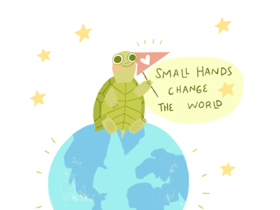 Small hands change the world