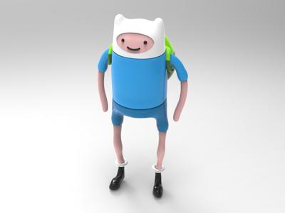 Finn. ZBrush. KeyShot