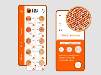 Dodo Mobile App Design