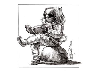 astronaut reaching space - photo #43