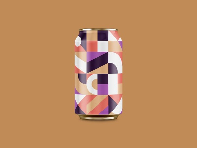 Can Pattern Exploration 3 can design branding beer branding beercan beer illustrator packaging can