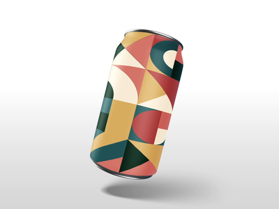 NS Can Series #2 illustrator beer branding seasonal season pattern packaging nightshift collab brewery beer