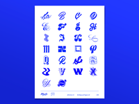 36 Days of Type (A-Z Poster)