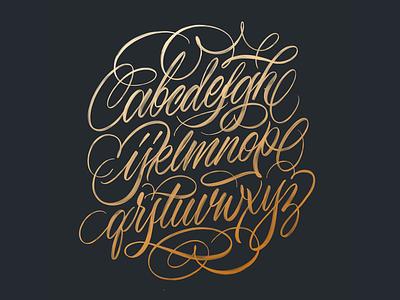 Flourish Worksheet illustration flourishing worksheet brushpen handlettering brushtype custom type script type hand lettering typography calligraphy lettering