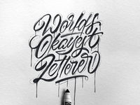 Worlds Okayest Letterer