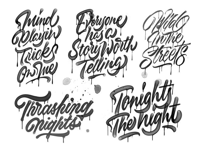 Tales From the Pad process brush script texture tombow brushpen hand made type brushtype handmadetype handlettering sketch logotype handmade custom type script type hand lettering typography calligraphy lettering