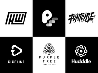 Black and White logos - Recent Work