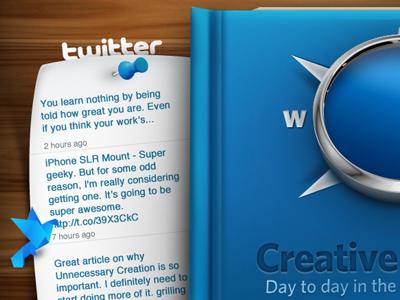 iPad book concept