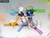 Art Institute menu concept