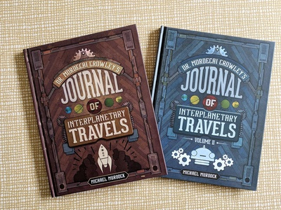 Journals of Interplanetary Travels - Print publishing books travel space art direction art science science fiction design illustration