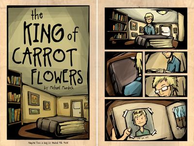 King of Carrot Flowers - Comic
