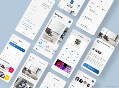 Meeting App (All screens)