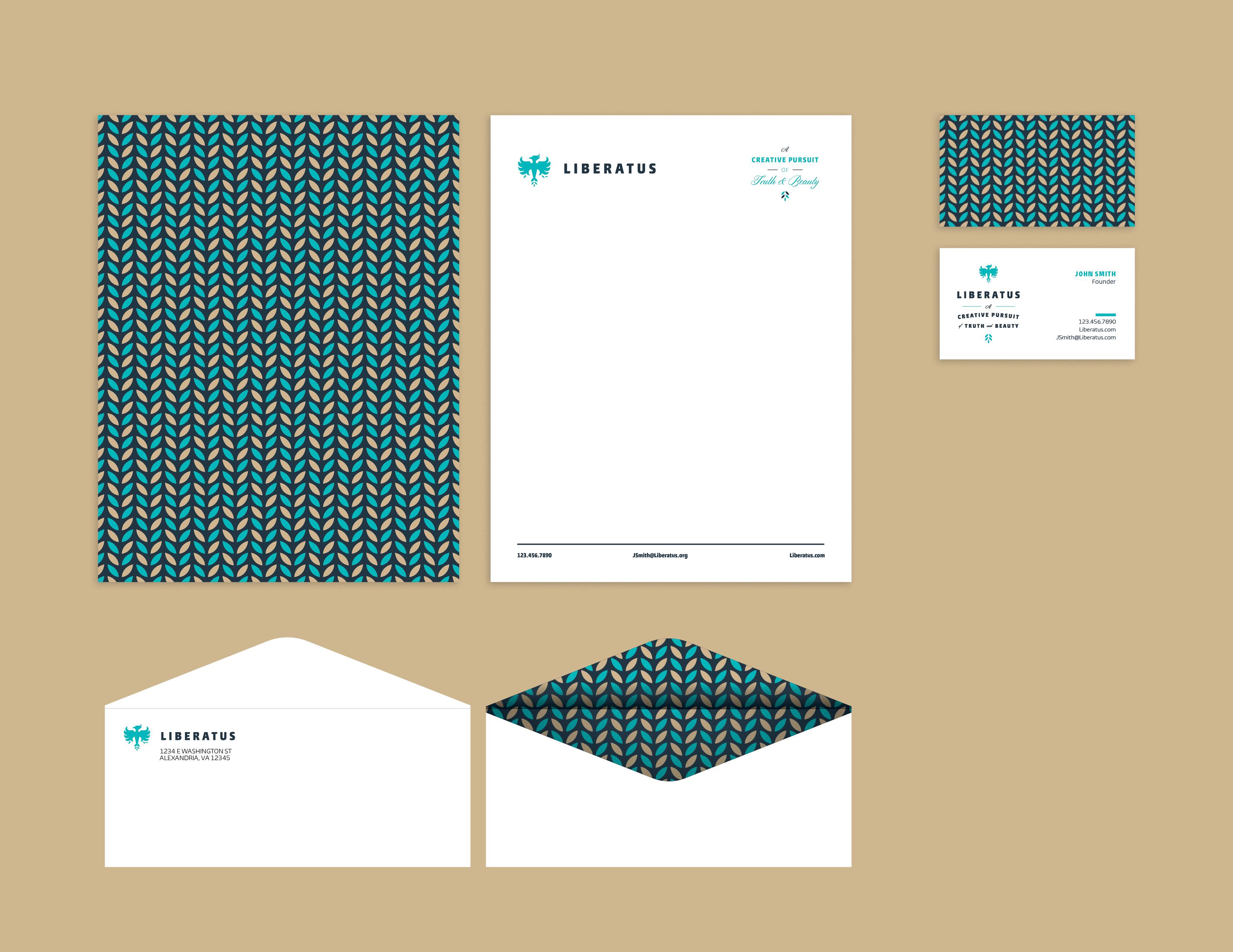 Liberatus branding presentation