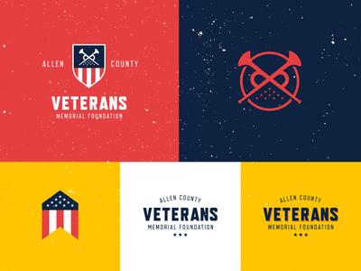 Veterans Branding II memorial vets veterans america crest badge mark logo identity branding