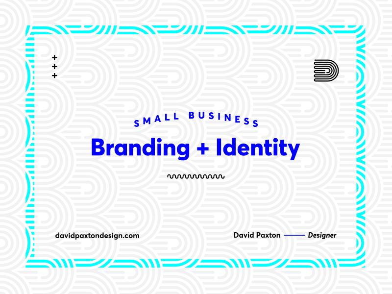 Ad pattern monogram logo identity branding ad
