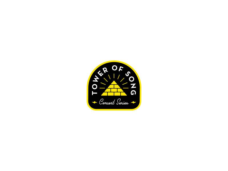 Tower of Song identity logo leonard cohen vinyl branding patch badge music