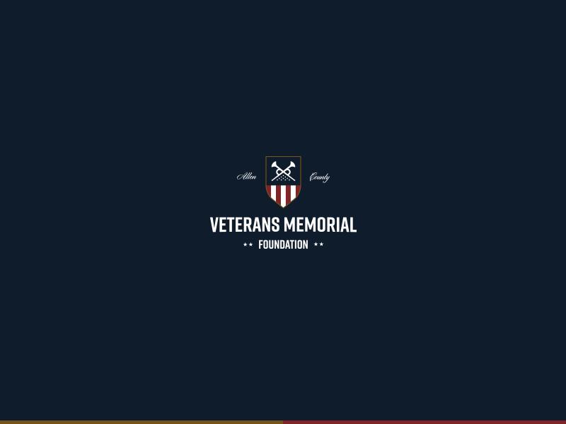 Veterans Branding IV armed forces usa military crest america freedom type logo badge lockup identity branding