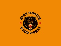 Bear Fighter Wood Works