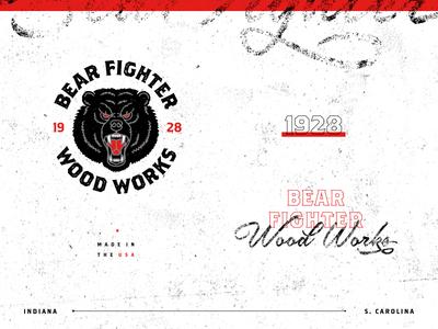 Bear Fighter Wood Works II
