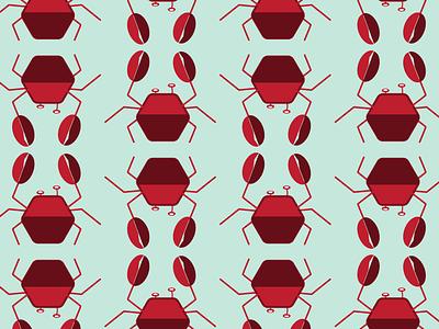 Crab Pattern graphic design pattern illustration
