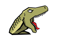 Raptor Mascot Illustration
