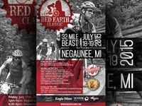 Red Earth Classic Poster