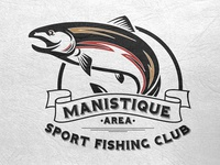 Manistique Area Sport Fishing Club Logo