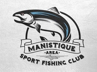 Manistique Area Sport Fishing Club Logo Final