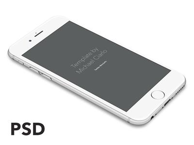 iPhone 6 Vector [PSD] freebie psd vector iphone iphone 6 mockup