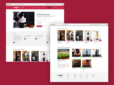 Vine By Me - Product Page product shots visual design ui design web design e-commerce product product page