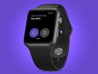 Doo for Apple Watch simplicity wearable reminder app to-do app apple watch