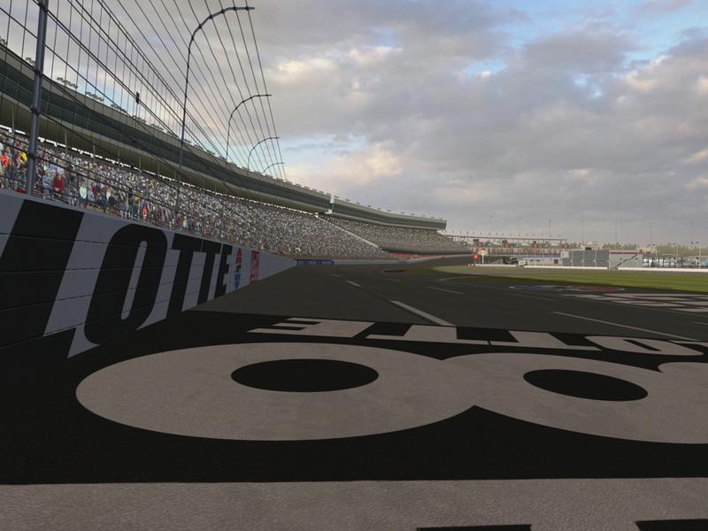 Charlotte Motor Speedway for NR2003 3d modeling charlotte motor speedway video game nr2003 textures modding