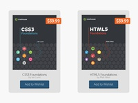 Book Mock-Up - Add to Wishlist treehouse rebound book mock-up playoffs add to cart css3 html5