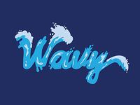 Wavy Typography