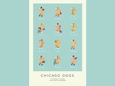 Chicago Dogs Poster
