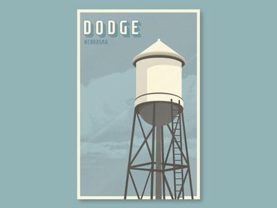 Dodge, Nebraska poster