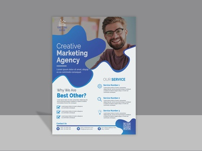 Corporate  Flyer Template Design