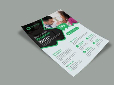 Medical Health  Flyer Design Template
