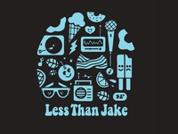 Less Than Jake - Happy Collage