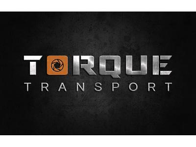 Torque Transport Logo tough drill metal logo transport torque