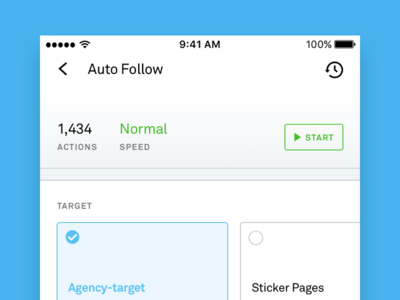 Activity Status Page - Followify